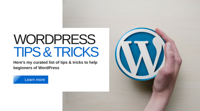 WordPress Tips & Tricks for Developers