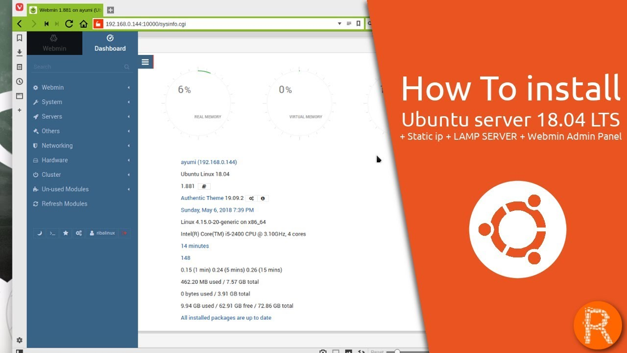 How do I download and install WordPress on Ubuntu 18.04 Using LAMP Stack