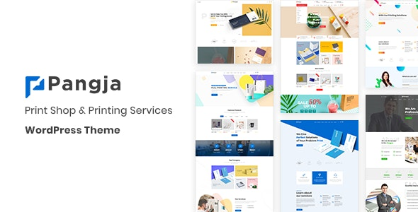 Pangja – Print Shop & Printing Services WordPress theme v1.0.8