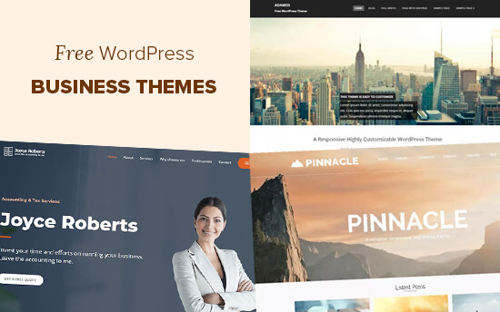 Free WordPress Business Themes in 2020