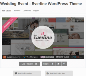 best wedding wordpress themes