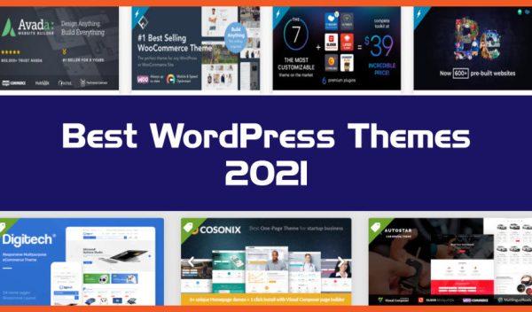 Best Website Themes  2021's